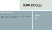 hauser it|systems - Steinenbronn